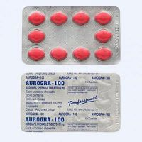 Buy Aurogra 100 mg - Sildenafil Citrate [50% off]