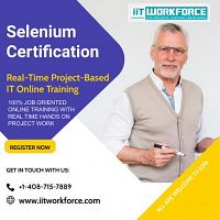 Enhance your knowledge of selenium at iiT Workforce with selenium certification training.