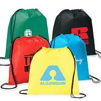 Get Promotional Drawstring Backpacks for Making Brand Popular