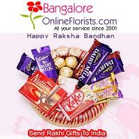 Buy Rakhi Gifts for your Brother and get Online Rakhi Delivery in Bangalore Same Day
