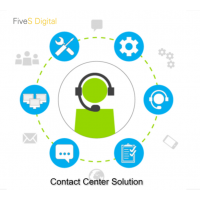 Get 24*7 Contact Center Solution - FiveSdigital