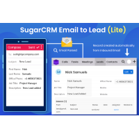 How SugarCRM Email to Lead plugin save your manual efforts?