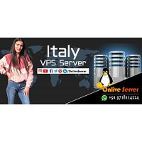 Get Advance Level of Italy Manged VPS Server by Onlive Server