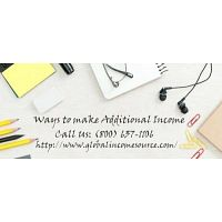 Set up an account online and make additional income from home