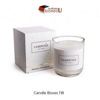 Order now custom candle Boxes Wholesale with creative design in the USA