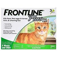 Shop Frontline Plus for Cats Best Price - Upto 60% + Extra 12% OFF Today