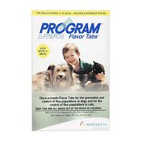 """Never Forget a Dose """"Program Flavour Tabs for Dogs"""" Monthly Flea Control"""