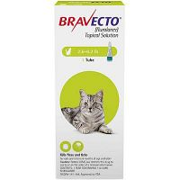 """3 Months Flea, tick & Ear Mite Protection """"Bravecto spot-on for cats"""""""