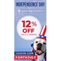 On America's birthday, you get a gift! Upto 60% Off + 12% Flat Discount