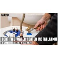 Certified Water Heater Installation Services in Chapel Hill NC