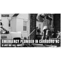 Emergency Plumber in Carrboro NC is just one call away!