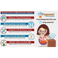The Best CRM Software for Call Center Provides by Kingasterisk Technologies
