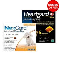 Buy Nexgard & Heartgard Plus Combo Pack for Dogs at Lowest Prices Today!