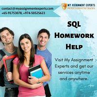 SQL Programming Homework Help   SQL Assignment Help