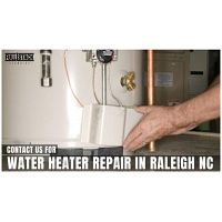 Contact us for water heater repair in Raleigh NC