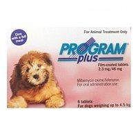 Program Plus for Dogs : Program Plus Flea & Worm Treatment for Dogs