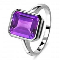 Buy Amethyst Gemstone Fashionable Rings at Wholesale price