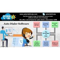 Auto Call Center Dialer Software Solution by Asterisk2voip Technologies