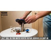 24/7 Call us for Water Heater Repair Services in Cary NC