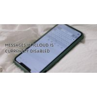 How to solve error messages in icloud is currently disabled