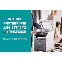 Brother Printer Paper Jam   Steps to Fix This Error