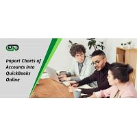 How do you import charts of accounts into QuickBooks