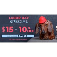 Labor Day Special Sale 10% OFF + Extra $15 OFF *Order above 300$