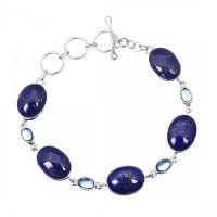 Beautiful Sterling Silver Lapis Lazuli jewelry at wholesale Price
