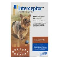 Shop Interceptor Heartworm Prevention for Dogs *10% OFF & More!