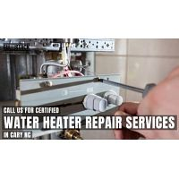 Call us for Certified Water Heater Repair in Cary NC