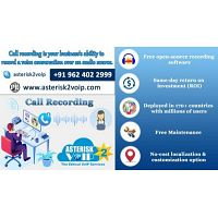 Smart Voip Call Recording Software Provided By Asterisk2voip Technologies