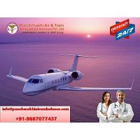 Relocate Your Ill Patient via Panchmukhi Air Ambulance Service in Bhubaneswar